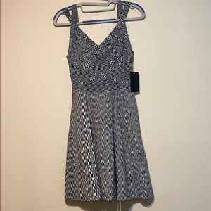 Guess bandage Double-Strap Flared Dress